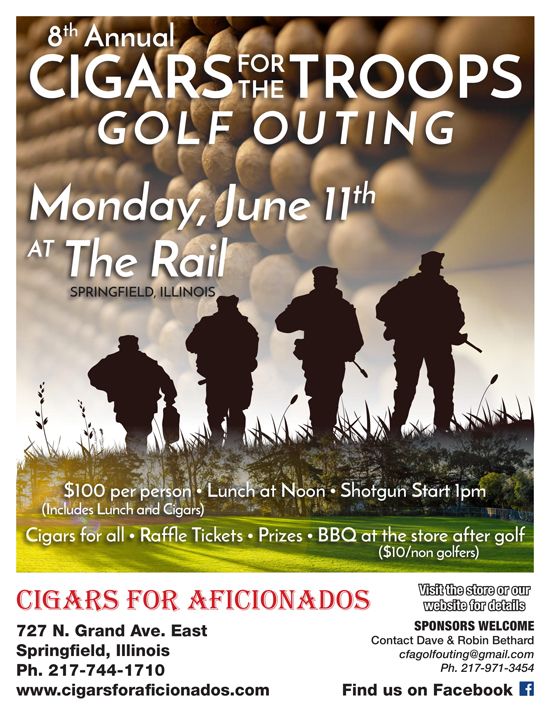 2018 CIGARS FOR THE TROOPS GOLF OUTING